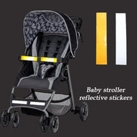 Wholesale Baby Stroller REFLECTIVE STRIPES Outside At Night Safety Stroller Accessory Accessories Baby Carriage Stroller