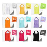 Cheap Wholesale-Candy color rendering female vest female new spring and summer halter neck size sleeveless vest female sling