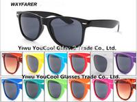 Wholesale RAY Classic Rivet Glasses New Wayfarer Style Mens Fashion vintage sunglasses Brand Designer women sun glasses oculos de sol