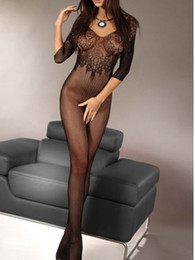 Wholesale Beauty online New Sexy Lace and Fishnet Body Stocking LC79395