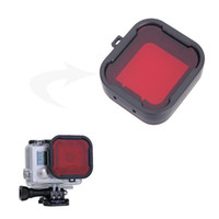 filter - For GoPro hero mini camcorder Gopro accessories polarizer Red Yellow color underwater diving UV lens filter