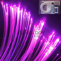 Wholesale LED fiber optic twinkle star for swiming pool includes150pcs mm m long fiber W light engine remote contoller color