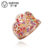 Cheap R287 Wedding Jewelry High Quality! Hollow out leaves, flower Midi Mid Finger Knuckle Ring