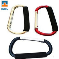 Cheap Outdoor Camping Hiking Plus Size Very Large Carabiner Durable Climbing Hook Aluminum Buckles