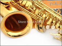 Wholesale Salma selmer alto saxophone e musical instrument electrophoresis gold professional