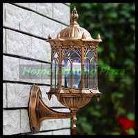 Wholesale V E27 Base cm no Light source europe retro wall lamp outdoor waterproof garden balcony fence wall lamps