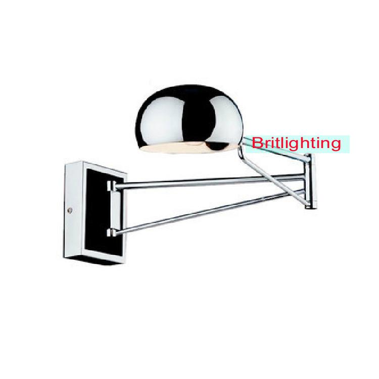 wholesale led bedroom wall lighting extend swing arm wall lamps modern wall sconce led indoor
