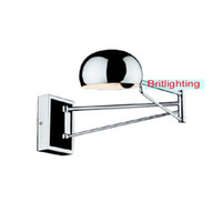 bathroom swing arm mirror - led bedroom wall lighting extend swing arm wall lamps modern wall sconce led indoor wall lights mirror lights bathroom sconce