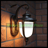 art deco gates - Europe style Outdoor waterproof LED wall lamps V W cm Retro wall lights garden balcony gate fence lights