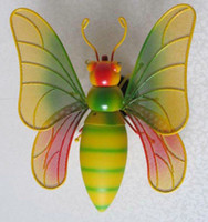 Wholesale E27 base Children s cartoon lamps Insect art wall lamp Little Bee lights Modern indoor wall light for home