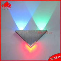 bars bathroom - W New Design for Home Hall Bar Decoration led wall lamp Triangle corridor cabinet wall surface mounted bathroom LED wall lamp