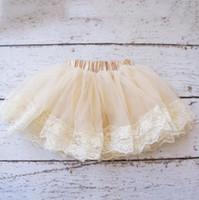 Wholesale New Hot Baby Girl Fluffy Skirt Children Tutu Skirt Kids Petticoat Baby Casual Skirt