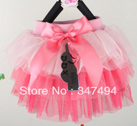 Wholesale New girls chiffon lovely pleated layered colorful skirtparty tutu ballet skirt patchwork ball gown the four seasons wear