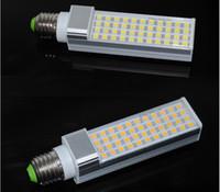 CE ROHS Approuvé E27 G24 11W Led Ampoules LED SMD 5050 44Leds maïs lumières chaudes Cool White Led Lighting 110-240V Energy Saving