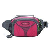 Wholesale 2015New Arrival high quality Canvas bag women Waist Packs Bags multifunction Case Orange sport Bag for travel