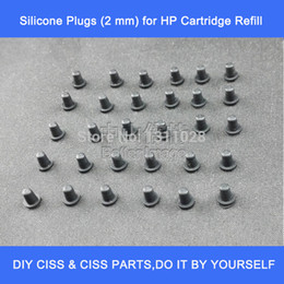 2 mm Silicone Plugs for Ink Cartridge Refill (to Seal Drill Hole),30PCS,one pack