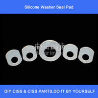 Wholesale 10 Silicone Washer Seal Pad for HP or for Canon CISS CIS etc