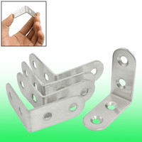 Wholesale Furniture Round End Right Angle Bracket Fastener mm x mm