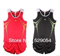 Cheap Wholesale-Free shipping new style quality goods men and women weskit+shorts run sweat suit 441