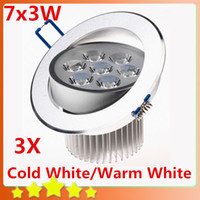 Wholesale W Ceiling Downlight LED Ceiling Lamp x3W Recessed Spot Light V V for Home illumination