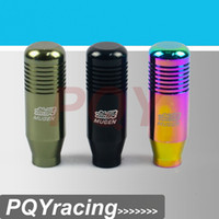 Wholesale J2 RACING STORE NEW RACING MUGEN Shift Knob GEAR KNOBS for Honda Acura M10x1 BALCK NEO CHROME TITANIUM PQY SK71