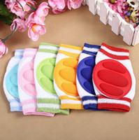 Wholesale Lovely and cute Kids Safety Crawling Elbow Cushion Infants Toddlers Baby Knee Pads Protector New Kneepad