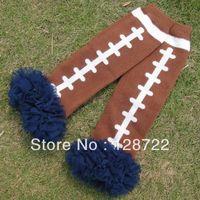 Wholesale freeshipping fluffies chiffon ruffle football lace leg warmers for baby girls kids and baby ruffle leggings pair