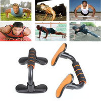 Wholesale 2pcs Pushup Push Up Stand Bracket Handle Bar Home Exercise Fitness