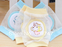 safety net - Pairs Baby Safety Knee Pad Kids Socks Children Short Kneepad Crawling Protector baby net kneepad