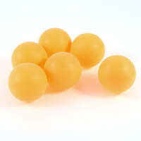 Wholesale 6 Plastic mm Dia Table Tennis Balls Ping Pong Ball Orange