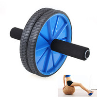 Wholesale Multifunction No Noise Dual Abdominal Wheel AB Roller Knee Mat Portable
