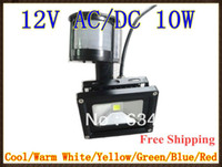 Wholesale DC12V W PIR LED Flood light White Warm Floodlight Motion Sensor AC DC12V LW41
