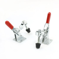 Wholesale 2pcs A Kg Lbs Quick Holding Vertical Type Toggle Clamp Red