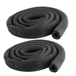Wholesale 2 Ft Long Foam Hose Inch x Inch Air Conditioner Heat Insulation Pipe Black