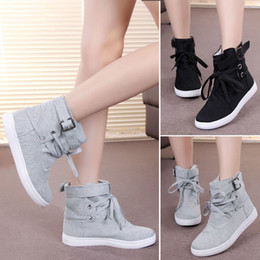 Girls Black Wedge Sneakers Online | Girls Black Wedge Sneakers for ...
