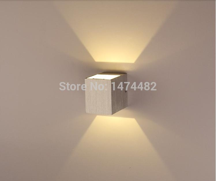 Wall Lights On Saturday Kitchen : 2017 Wholesale 2015 New 1w Led Wall Light Square Kitchen Cabinet Light Up And Down Side Led Wall ...