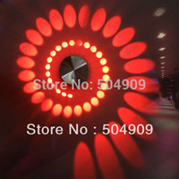 Wholesale Spiral W High power LED Wall light Porch Hall Room Lobby Stairs Modern Decorative Decoration Fixture Background Bulb