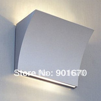 arc lighting design - Promotion arc shape design gray color Metal wall Lamp Modern Wall Sconce lighting fixture lamp