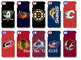 Wholesale best sale new skin hockey team NHL case plastic hard back cover for iphone plus