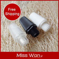 base terminal - plastic wire locking clasp cap terminal lighting base fitting accessories diy pendant light spare parts