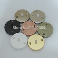 Wholesale Ceiling Canopy Ceiling Rose Wall Lamp Base lighting accessories Diameter mm