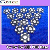 aluminum base board - W W W High Power LED PCB Aluminum Star base plate Circuit board DIY