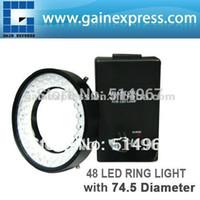 Wholesale Camera Microscope Illuminator White LED Bulbs Ring Light mm Mounting diameter mm mm Optimum Range