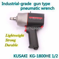 Wholesale KUSKI KG HE Taiwan original1 pneumatic tools Air wrench Pneumatic tools Magnesium alloy plastic body pneumatic wrench