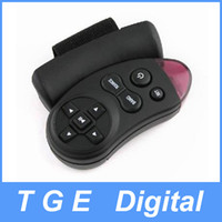 Wholesale Car Universal Steering Wheel IR Remote Control RC for GPS CD VCD DVD TV MP3 Player