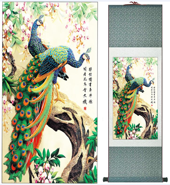 2018 Super Quality Traditional Chinese Art Painting Home Office Decoration Chinese Painting