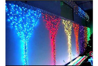 beaded door curtains - led colored beaded string curtain beads m m christmas outdoor decoration with lights window door net curtain fairy light