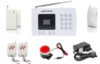 Wholesale high quality zones Wireless smart Home Security Burglar Alarm System with Auto dial