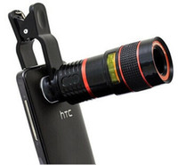 achat en gros de zoom téléphone s3-Universal 8X Optical Zoom Télescope Lentille pour Téléphone Mobile iPhone 4S 4G 5G 5S 5C 6 Samsung i9300 S4 S3 Galaxy Note 2 3