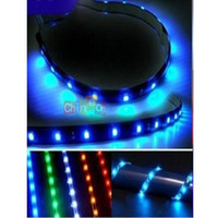 Wholesale New Pretty Five Color cm V Flexible Waterproof LED Neon Car Soft Light Strip Christmas Festival Decoration